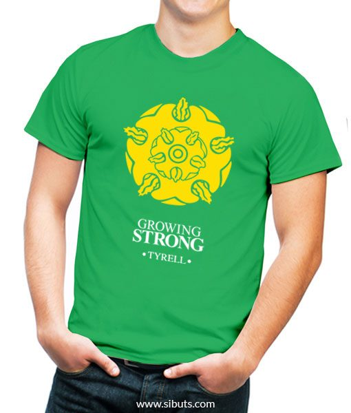 Playera hombre game of thrones house tyrell