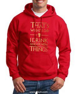 sudadera roja game of thrones lannister