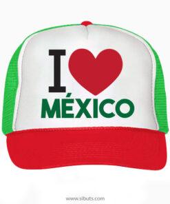 Gorra Tipo Trucker o Camionero I Love México