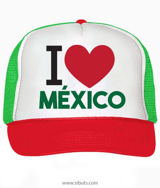 Gorra tipo trucker o camionero i love méxico jpg 510x600 Gorras de mexico b85260a0314