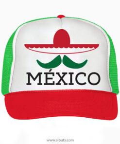 Gorra Tipo Trucker o Camionero Sombrero Bigote México