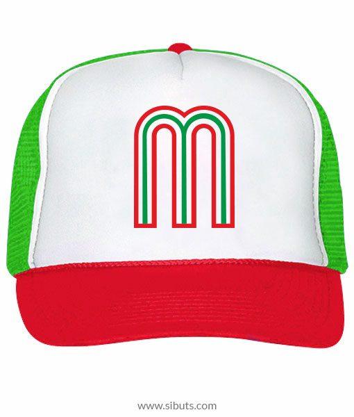 ec15ec31b74d Gorra M de México Colores