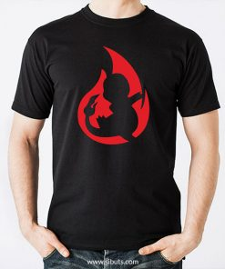 Playera hombre Pokemon Go Chamander Element