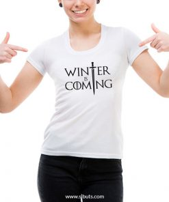 Playera mujer Game of Thrones Winter is Coming