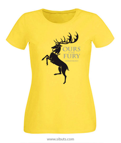 Playera mujer Game of Thrones House Baratheon