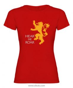 Playera mujer Game of Thrones House Lannister