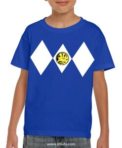 Playera niño Power Ranger Azul