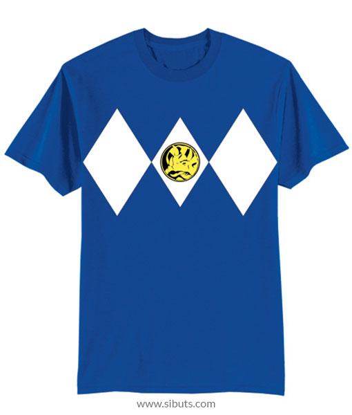 Playera niño Power Ranger Azul