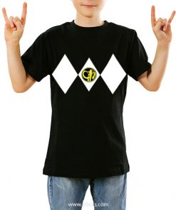 Playera niño Power Ranger Negro