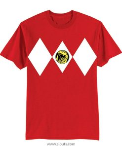 Playera niño Power Ranger Rojo