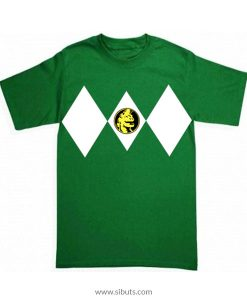 Playera niño Power Ranger Verde