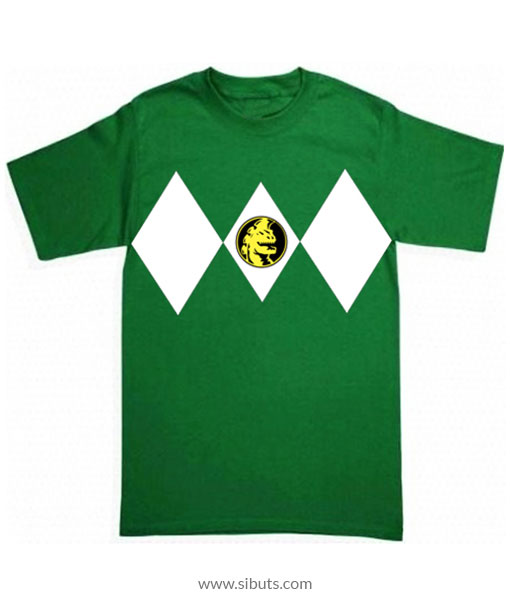 Playera niño Power Ranger Verde