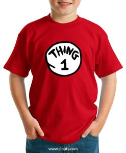 Playera niño Thing 1