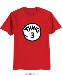 Playera niño Thing 3