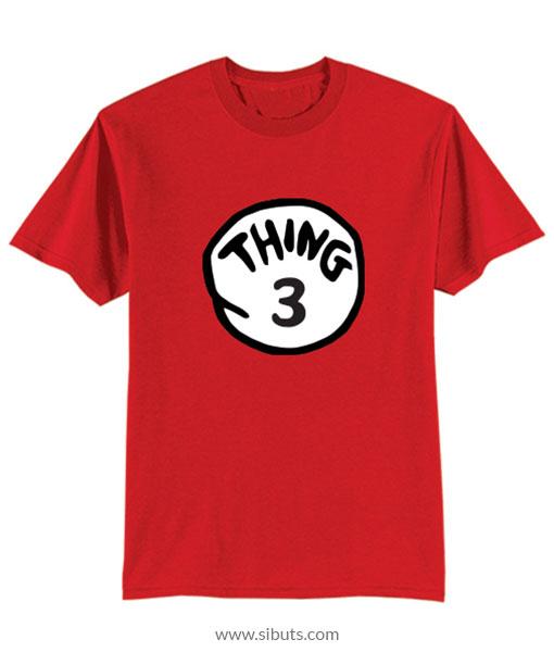 Playera niño Thing 3