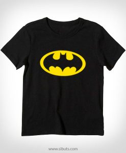 playera negra niño batman
