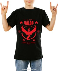 Playera Pokemon Go Niño Team Valor