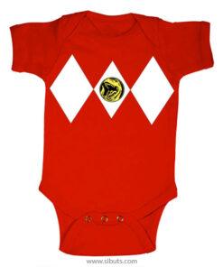 Panalero Bebe Power Ranger Rojo