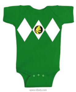 Panalero Bebe Power Ranger Verde