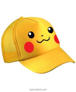Gorra amarilla pikachu pokemon