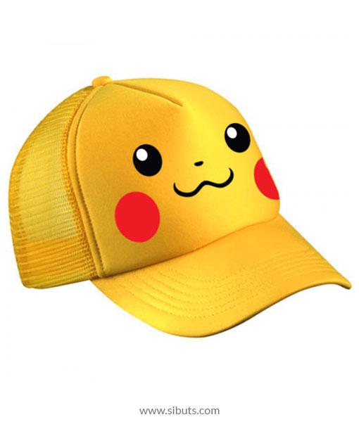 bee683d18 Gorra Amarilla Pokemon Pikachu - Sibuts Tienda online