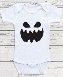Pañalero para Bebé Blanco de Fantasma Halloween