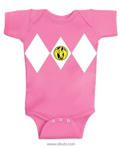 Panalero Bebe Power Ranger blanco