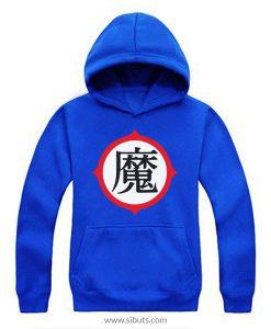 Sudadera azul con gorro piccolo Dragon Ball Goku