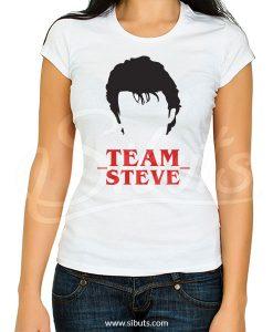Playera mujer Stranger Things Team Steve Harrington