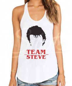 Tank top mujer Stranger Things Team Steve Harrington