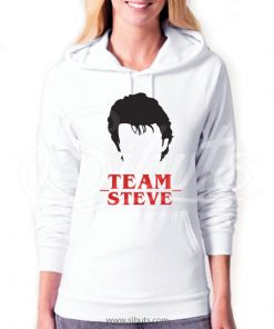 Sudadera con gorro mujer Stranger Things Team Steve Harrington