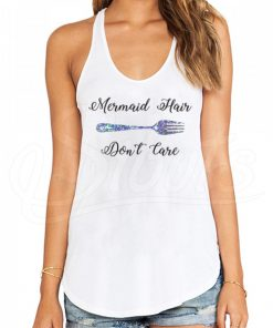 Playera Tank Top Mujer Mermaid Hair Don't Care