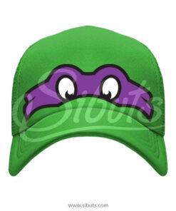 Gorra Verde Tortuga Ninja Donatelo