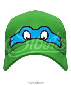 Gorra Verde Tortuga Ninja Leonardo