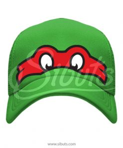 Gorra Verde Tortuga Ninja Rafael