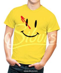 Playera amarilla Watchmen
