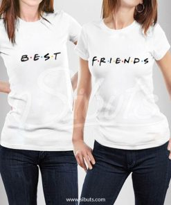 Playeras mujer best friends