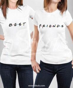 Playeras mujer best friends