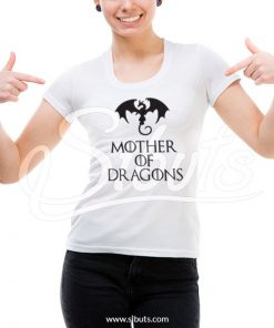 Playera mujer mother of dragons