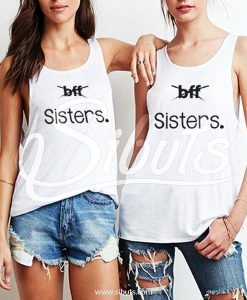 Tank top mujer amigas Bff Sisters