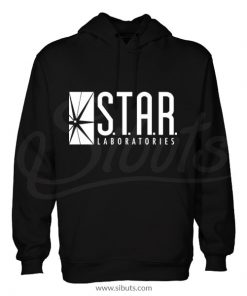 Sudadera gorro hombre Star Laboratories Flash
