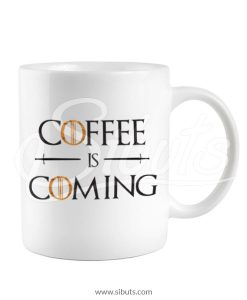 Taza Game of Thrones Coffee is Coming