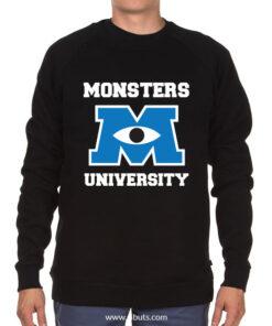 Sudadera cuello redondo hombre Monsters University