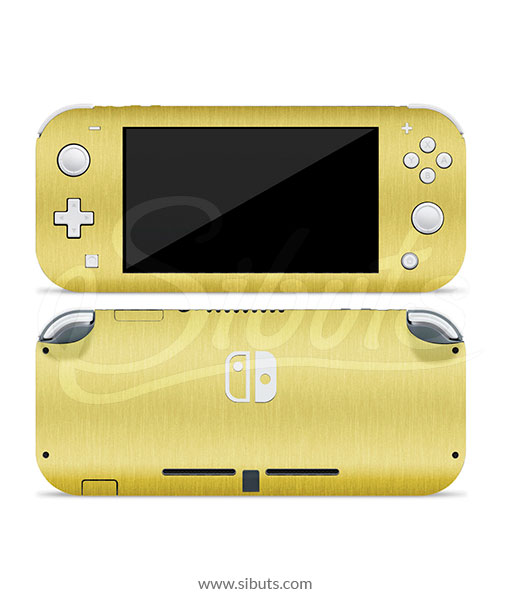 Skin Nintendo Switch Lite Oro Brushed Gold