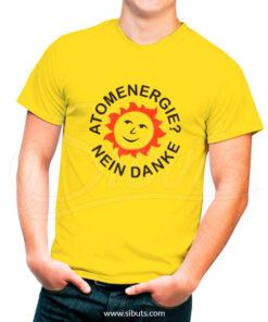 Playera Hombre-Serie Dark Atomenergie Nein Danke