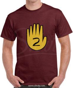 Playera Hombre Gravity Falls Diary Hand 2
