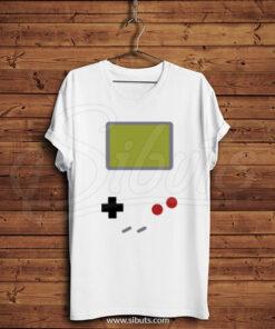 Playera Hombre Game Boy