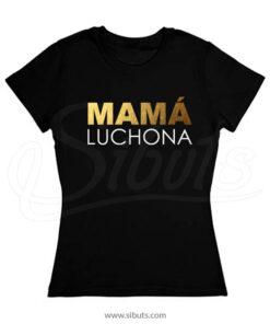 Playera mujer mama luchona