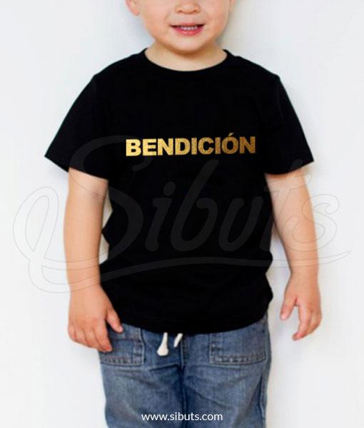 Playera niño bendición