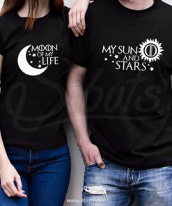 Playeras pareja Game of Thrones